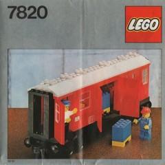 Lego 7820 Mail Van