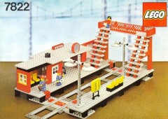 Lego 7822 Railway Station