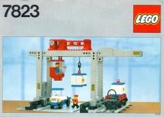 Lego 7823 Container Crane Depot