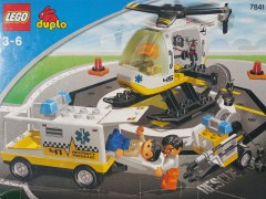 Lego 7841 Helicopter Rescue Unit