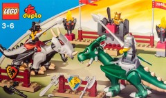 Lego 7846 Dragon Tournament