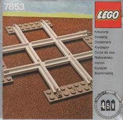 Lego 7853 Crossing, Grey 4.5 V