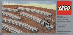 Lego 7855 8 Curved Electric Rails Grey 12 V
