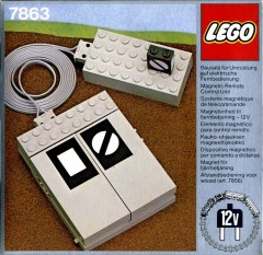 Lego 7863 Remote Controlled Point Motor 12 V