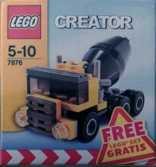 Lego 7876 Cement Truck