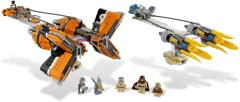 Anakin Skywalker and Sebulba's Podracers