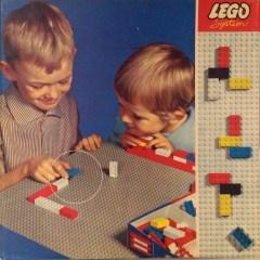 Lego 799 Baseplate, Gray