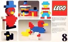 Lego 8 Basic Building Set, 3+