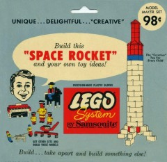 Lego 801 Space Rocket