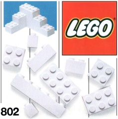 Lego 802 Extra Bricks White