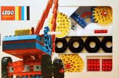 Lego 803 Gears, Bricks and Heavy Tires