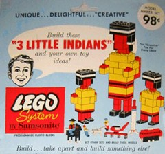 Lego 805 3 Little Indians