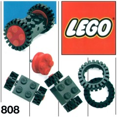 Lego 808 Wheels and Tyres