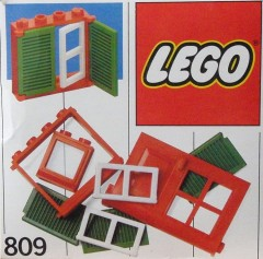 Lego 809 Doors and Windows