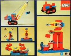 Lego 811 Gear set