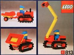 Lego 813 Tractor