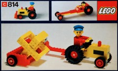 Lego 814 Tractor