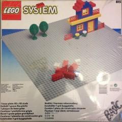 Lego 815 Baseplate, Grey