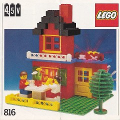 Lego 816 Lighting Bricks, 4.5V