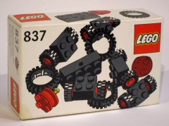 Lego 837 Wheels and Tyres Parts Pack