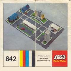 Lego 842 Town Plan