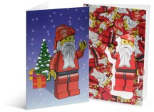 Lego 852133 Santa Holiday Cards