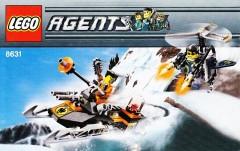 Lego 8631 Jetpack Pursuit