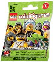 Lego 8803 LEGO Minifigures Series 3 {Random bag}