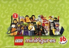 Lego 8803 LEGO Minifigures Series 3 - Sealed Box