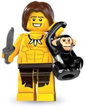 Лего 8831 Мальчик из джунглей