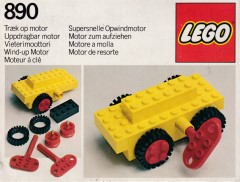 Lego 890 Wind-Up Motor