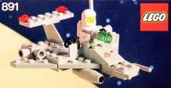 Lego 891 Two Seater Space Scooter