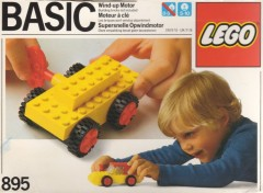 Lego 895 Wind-Up Motor