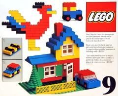 Lego 9 Basic Building Set, 3+