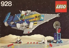 Space Cruiser And Moonbase