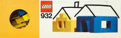 Lego 932 Blue and Yellow Bricks