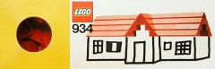 Lego 934 Roof Bricks, 45°