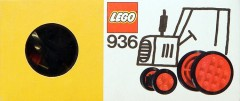 Lego 936 Wheels and Tyres