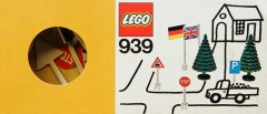 Lego 939 Flags, Trees and Road Signs