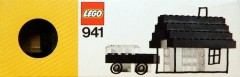 Lego 941 Black and Clear Bricks