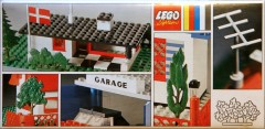 Lego 990 Trees and Signs (1969 version with old style trees and 3 bricks)