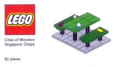 Lego COWS Cities of Wonders - Singapore: Chope Seat