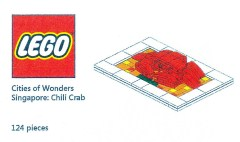 Lego COWS Cities of Wonders - Singapore: Chilli Crab