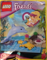 Lego Friends Magazine issue 37 Turtle and beach set with dolphin