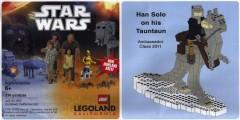 Lego LLCA53 Han Solo on his Tauntaun