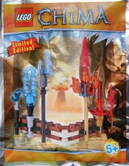 Lego LOC391504 Fire and Ice weapons