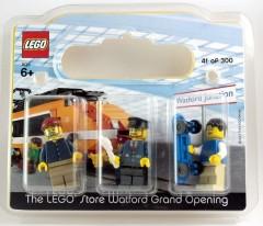Lego WATFORD Watford, UK Exclusive Minifigure Pack